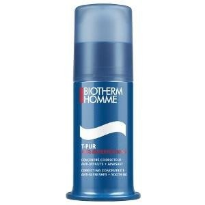 Biotherm Homme T-Pur Correcting Concentrate Anti - Blemishes + Soothing balsam korygujący niedoskonałości 50ml