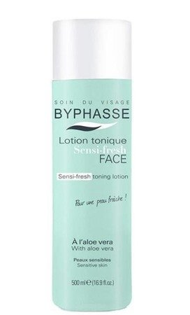 Byphasse Lotion tonique Sensi-Fresh tonik do twarzy z wyciągiem z aloesu 500ml