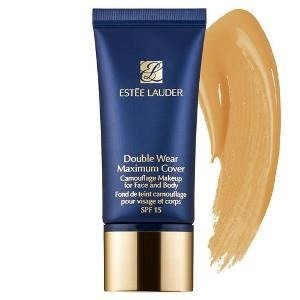 Estee Lauder Double Wear Maximum Cover Camouflage Makeup For Face And Body Podkład kryjący do twarzy i ciała SPF 15, 4N2 Spiced Sand 30ml  + G R A T I S : P R Ó B K A _ C L A R I N S !