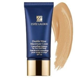 Estee Lauder Double Wear Maximum Cover Camouflage Makeup Podkład kryjący do twarzy i ciała SPF 15, 3C4 Medium/Deep 30ml  + G R A T I S : P R Ó B K A _ C L A R I N S !