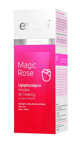 Evree Magic Rose upiększająca maska do twarzy 75ml