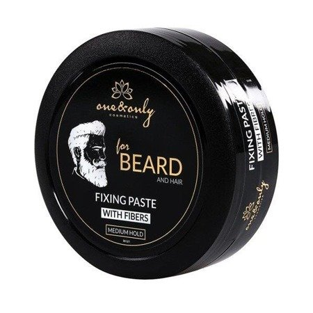 One&Only For Beard And Hair Fixing Paste pasta do stylizacji brody i włosów Medium Hold 80g